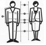 Определяем европейские размеры одежды