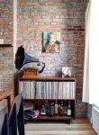 Дом с кирпичными стенами в Бруклине от Gradient Design Studio