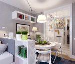 Дизайн однокомнатной квартиры-студии в России