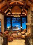 Дизайн интерьера: дом на горе в Колорадо