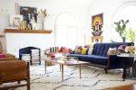 Дизайн гостиной от Emily Henderson