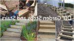 Лестница для холмистого садового участка