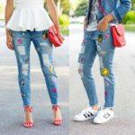 Как украсить джинсы самостоятельно. Патчи