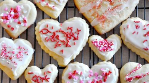 Творожное печенье ко дню Святого Валентина