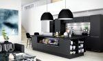 Черно-белая кухня — лучшие идеи дизайна