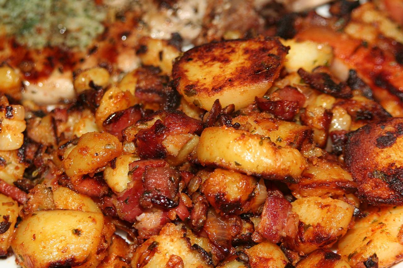 Как сделать корочку на картошке на сковороде