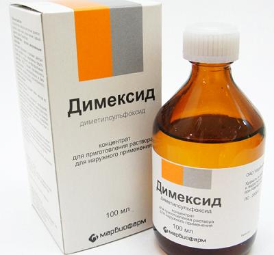 Аптечный препарат Димексид от морщин и прыщей