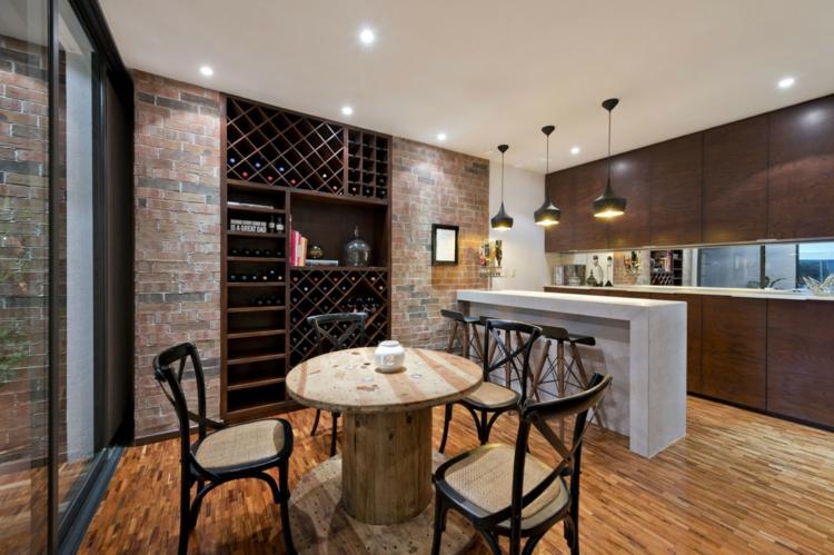 Кухонный встроенный шкаф