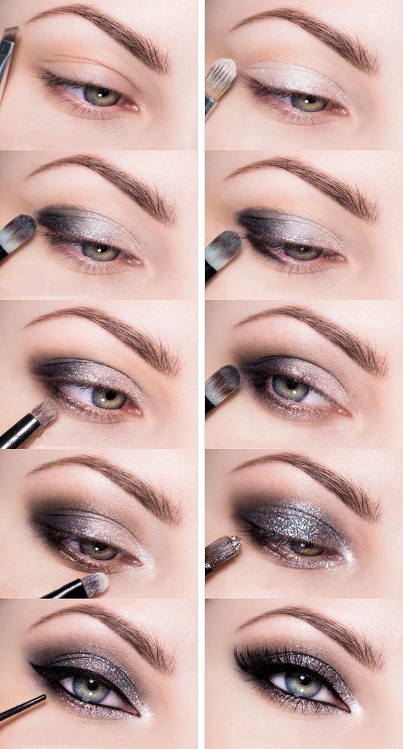 фото макияж глаз