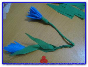Мастер-класс полевые цветы