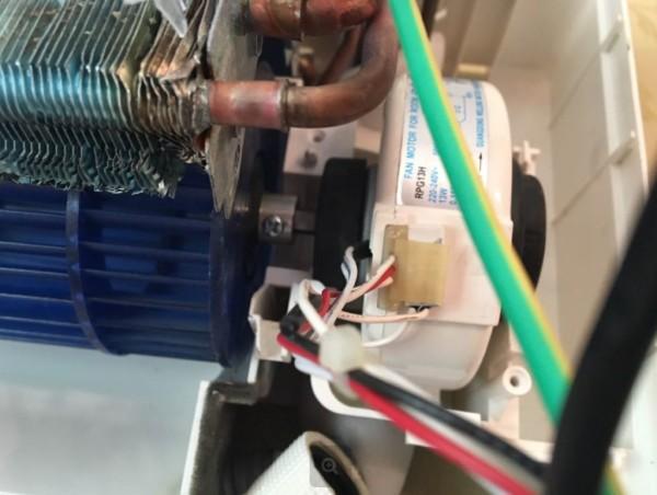 Болт крепления вентилятора