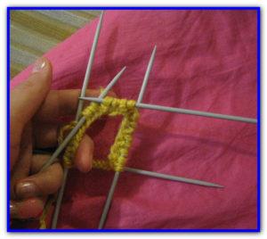 Мастер-класс вязание носки