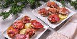 Шампиньоны, фаршированные ветчиной и сыром — вкусный рецепт закуски