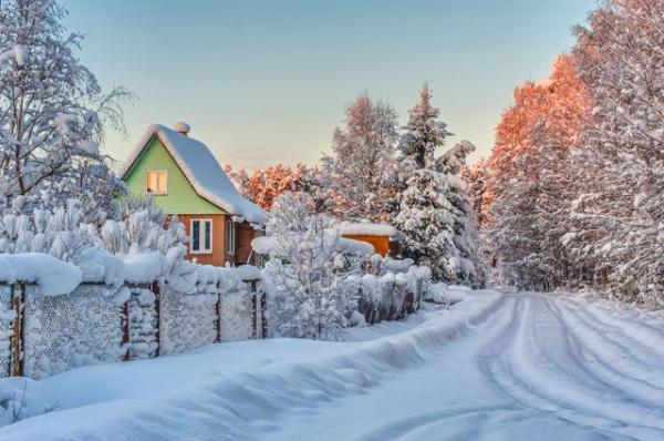 Русские народные приметы про погоду на январь